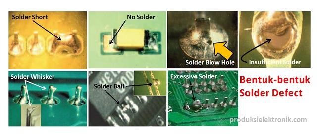 Bentuk-bentuk solder cacat
