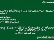 Cara Menghitung Tenaga Kerja yang dibutuhkan