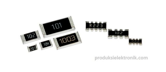 Bentuk dan Ukuran Standar Chip Resistor (SMD Resistor)